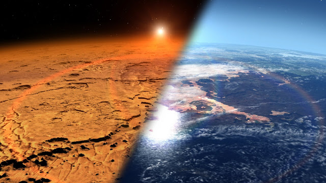 New insight into how much atmosphere Mars lost