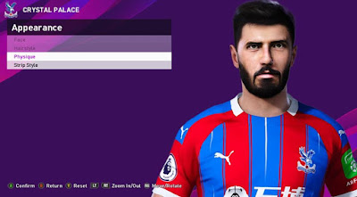 PES 2020 Faces James Tomkins by Rachmad ABs