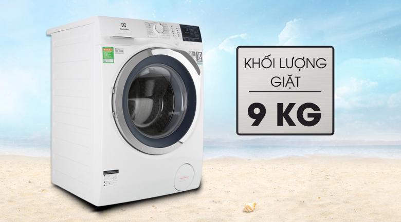 Máy giặt Electrolux EWF9024BDWB - Khối lượng giặt 9 kg, phù hợp gia đình trên 6 người