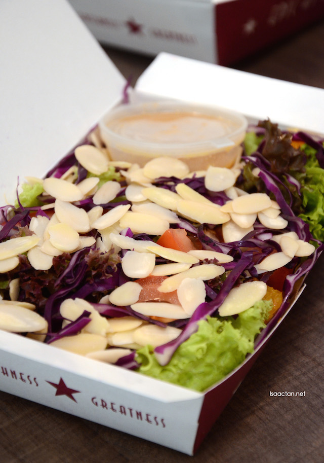 Almond Honey Mustard Salad - RM8.80