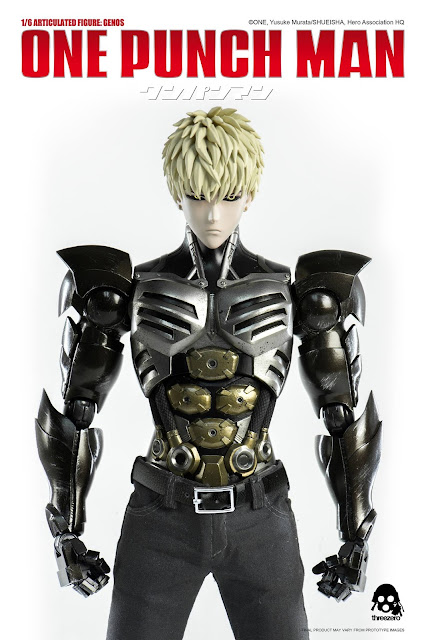 osw.zone Genos (ェ ノ ス ス, Jenosu) is the Deuteragonist of One-Punch Man.  Check out Threezero One-Punch Man 1/6 scale genos 12 inch full-articulated figure