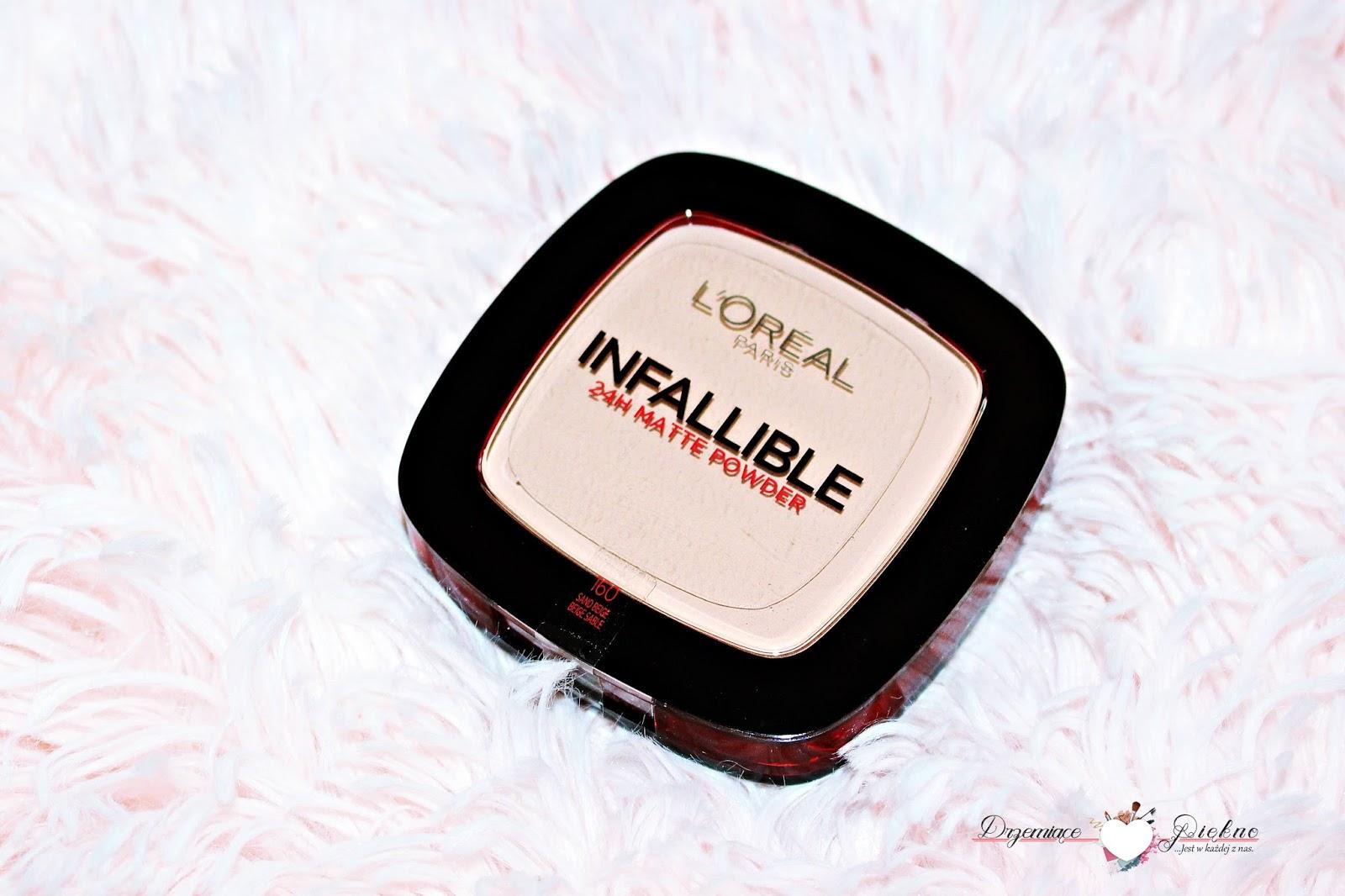L'Oréal Paris, Infallible 24H Puder matujący