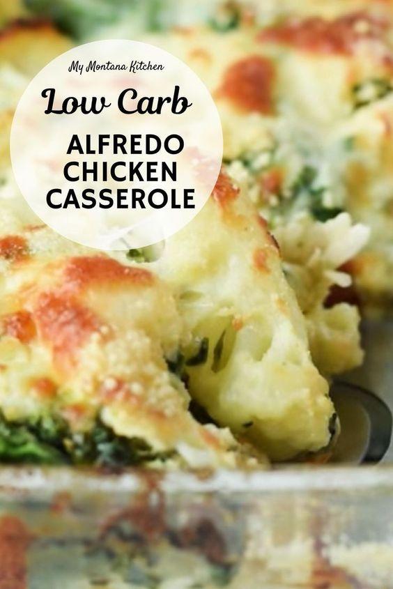Alfredo Chicken Casserole