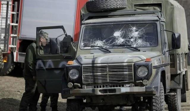 Τροχαίο ατύχημα με «καναδέζα» στο Στρατό Ξηράς