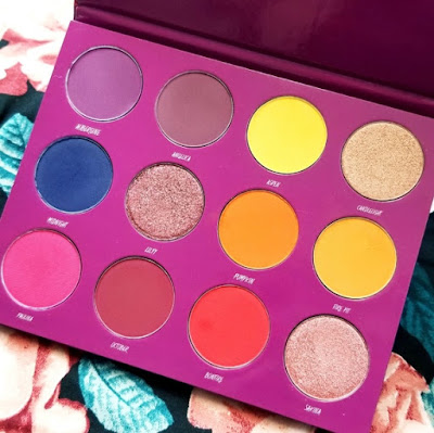 Blush Tribe The Fall Fusion Eyeshadow Palette