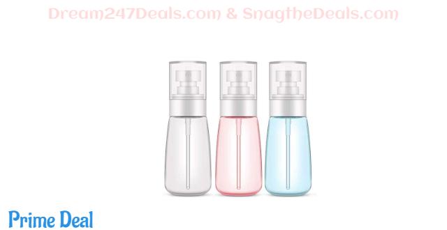 40%OFF Plastic Spray Bottle,3 Pack 60ml/2oz Spray Bottles, Fine Mist Spray Bottle for Travel and Home)