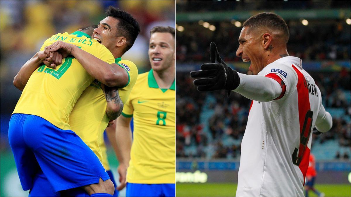 بث مباشر مباراة البرازيل وبيرو