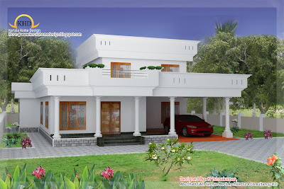 Duplex Home Elevation - 214 Sq M (2300 Sq. Ft) - January 2011