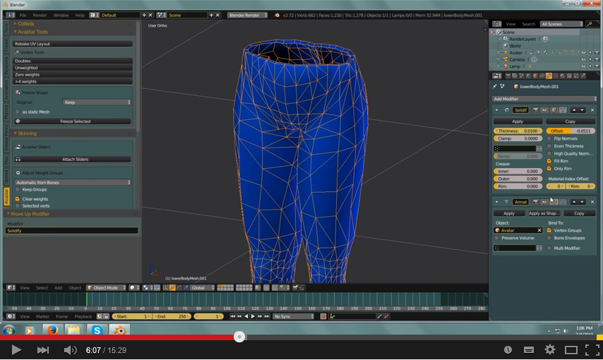How To Make Simple 3D Clothing For Second Life - Metaverse Tutorials