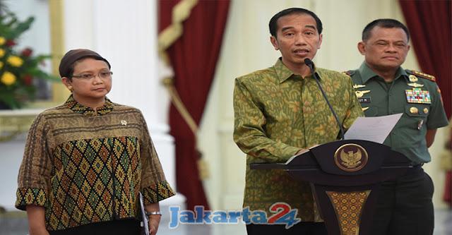 Reaksi Presiden Jokowi Atas Insiden Penolakan Panglima TNI Masuk Wilayah AS