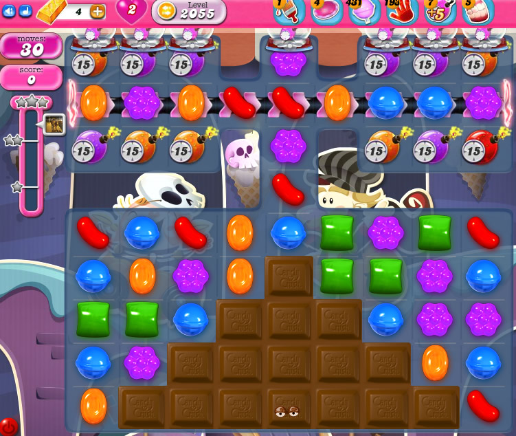 Candy Crush Saga 2055