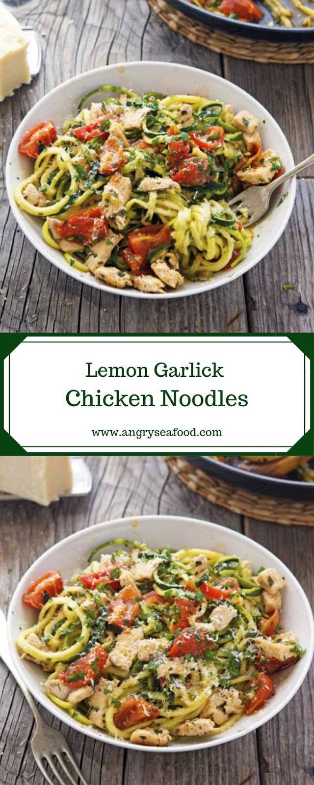 Lemon Garlick Chicken Noodles