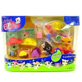 Littlest Pet Shop 3-pack Scenery Horse (#524) Pet