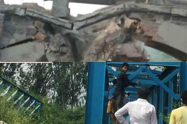 naharpar-badoli-pull-broken-in-faridabad-news