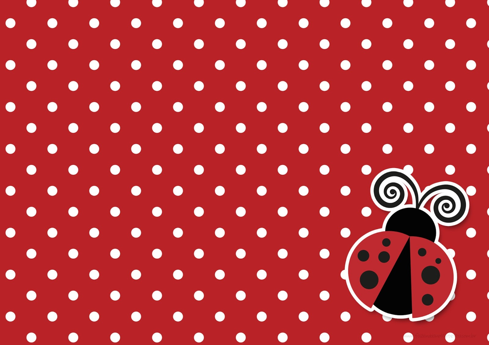 Ladybug Party : Free Printable Invitations. | Oh My ...
