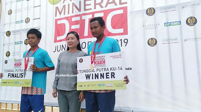 Amman Mineral DETEC Jr Open 2019: Inilah Juaranya !