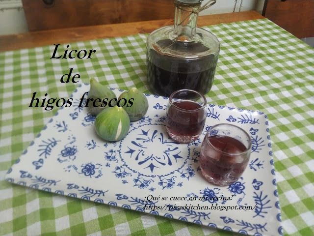 LICOR DE HIGOS FRESCOS