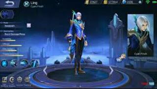 Build Item Tersakit Hero Ling Mobile Legend