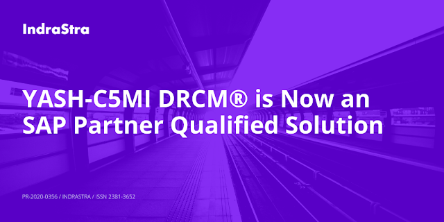 YASH-C5MI DRCM® is now an SAP Partner Qualified Solution