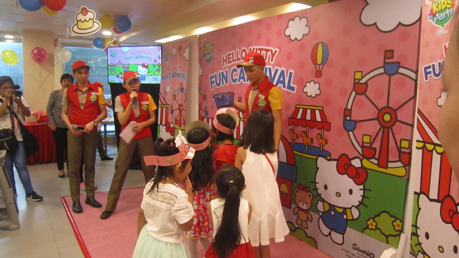 Make your child's birthday memorable with Jollibee Hello Kitty Fun