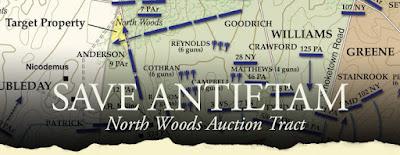 Save Antietam's North Woods!