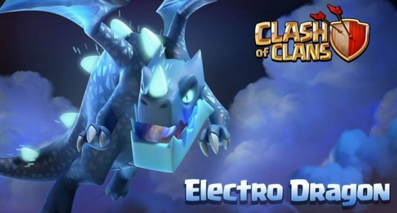 Electro Dragon Tropps terbaru Clash Of Clans COC