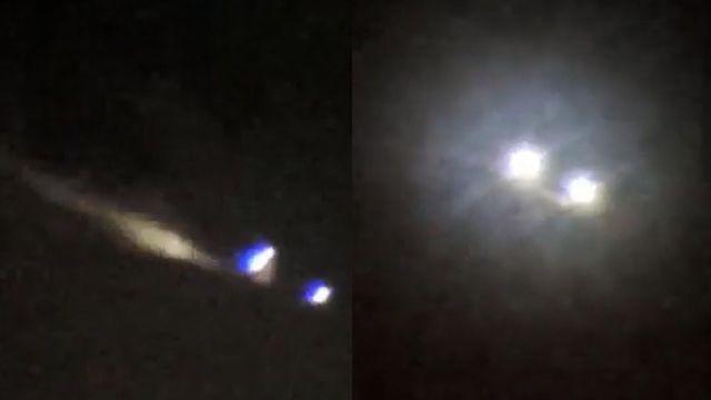 Skywatcher stunned by weird rotating spheres in the sky  Skywatcher-spheres-orbs-sky