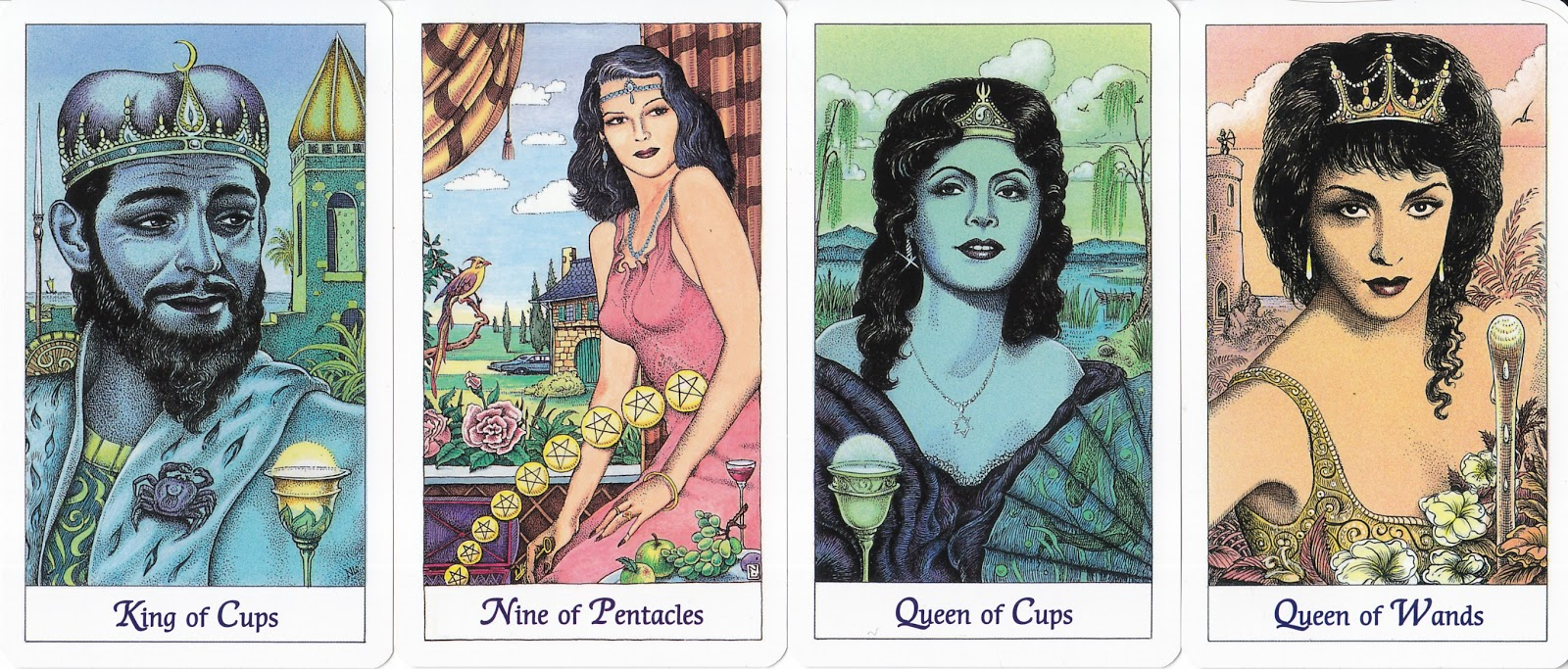 Rowan Tarot: Tarot goes Hollywood: The Cosmic Tarot