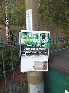 Make our city Edenburgh.  Over a third of your bin is made up of food waste
