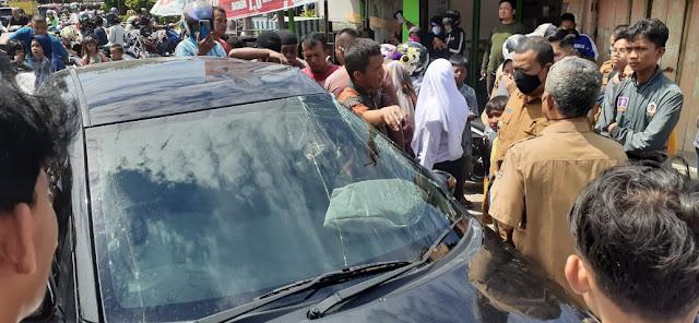 Kronologi Tabrakan Kereta Api dan Mobil Berpenumpang 5 Orang di Simpang Kp Kaliang