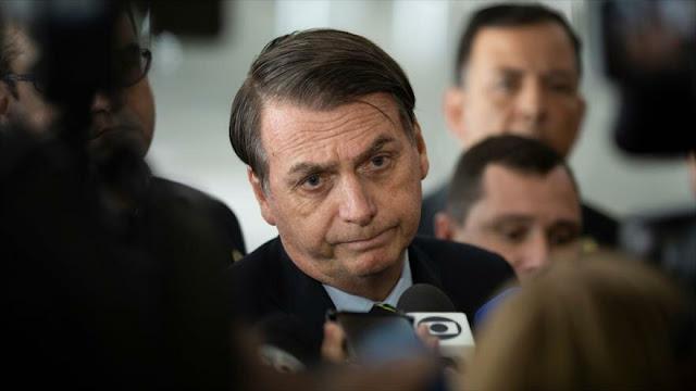 """Bolsonaro dice que la dictadura militar en Brasil """"nunca existió"""""""