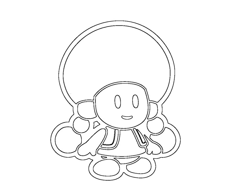 toadette colouring pages