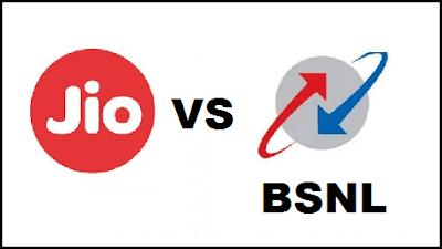 Jio Fiber VS BSNL