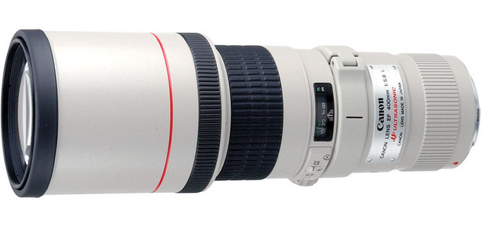Current EF 400mm f/5.6 L USM Lens Image