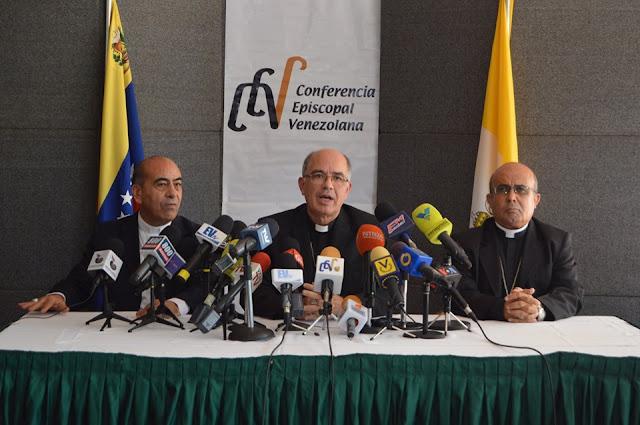 """VENEZUELA: Conferencia Episcopal Venezolana: """"Venezuela clama a gritos un cambio de rumbo""""."""