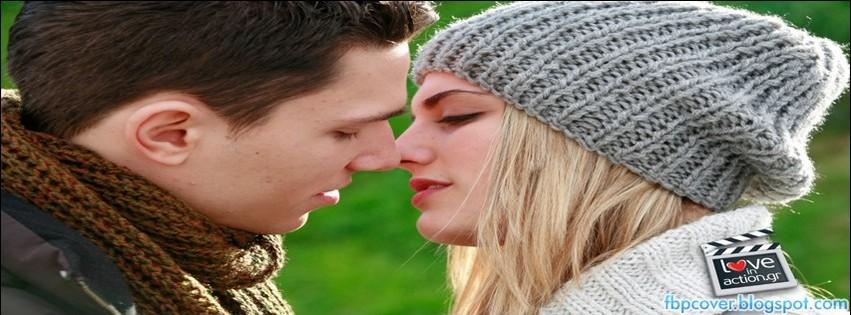 Cute, couple, kiss, hair, style, love, facebook, cover, fb ...