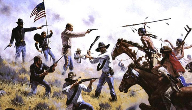 Pembantian Suku Indian oleh koloni Amerika