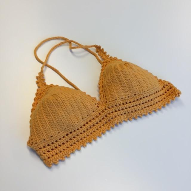 hekle bikini mønster