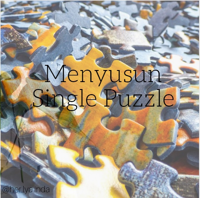 Menyusun Single Puzzle, Yook.. !