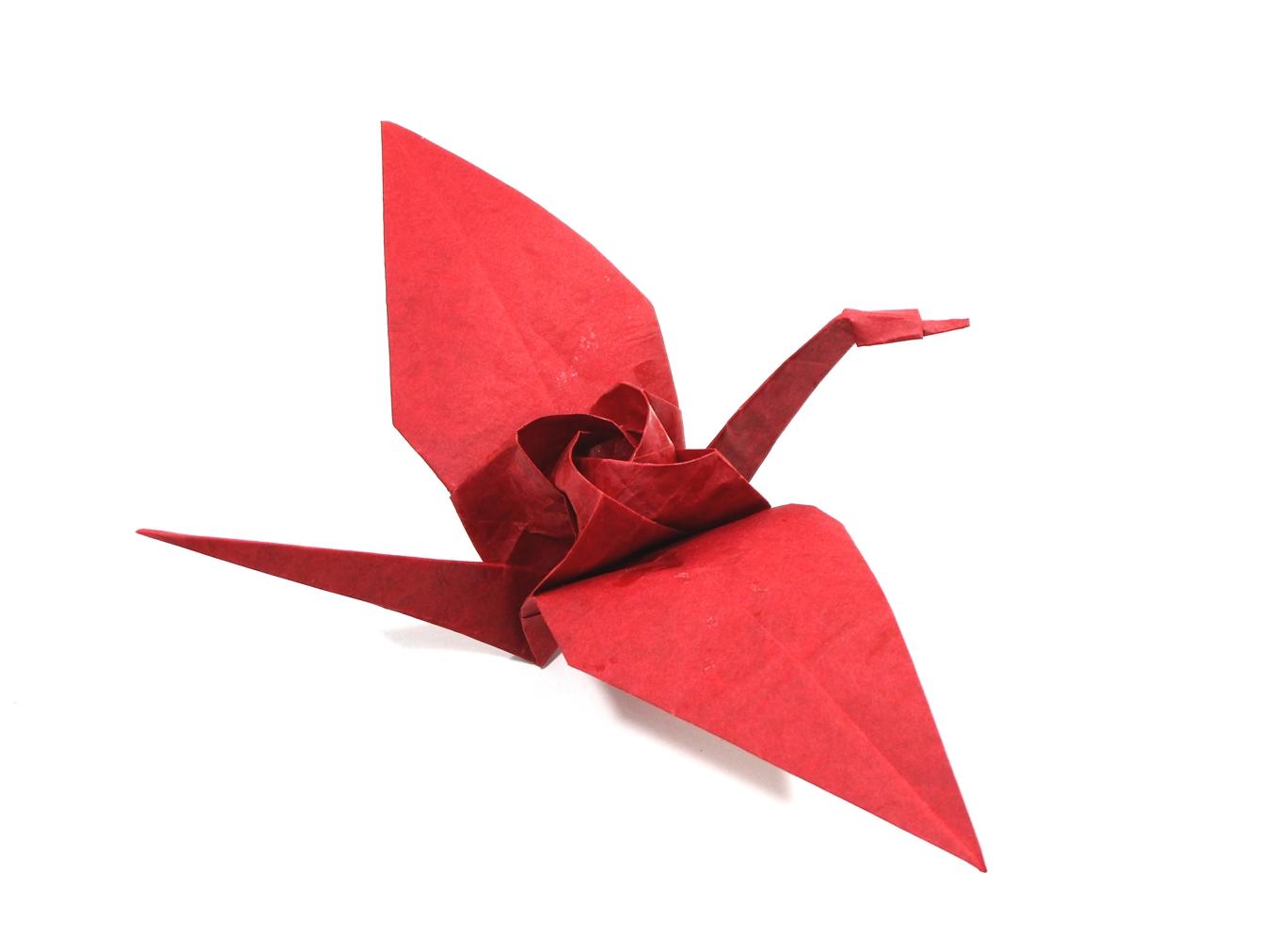 Mariano-Mi mundo el Origami: Tsuru Kawasaki Rose (video ... - photo#8