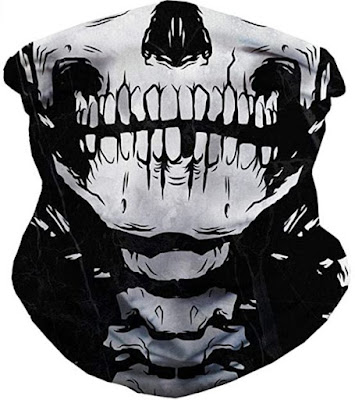 iHeartRaves Seamless Face Mask and Mouth Cover