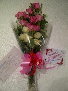 buket mawar indah lamongan