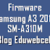 Firmware Samsung SM-A310M A3 2016
