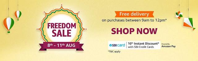 [8th-11th Aug] Amazon Freedom Sale 2020