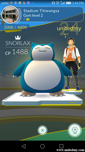 Stadium Titiwangsa Pokemon Go Gym