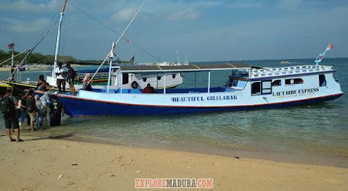 kapal jelajah wisata pulau gili labak gili genting
