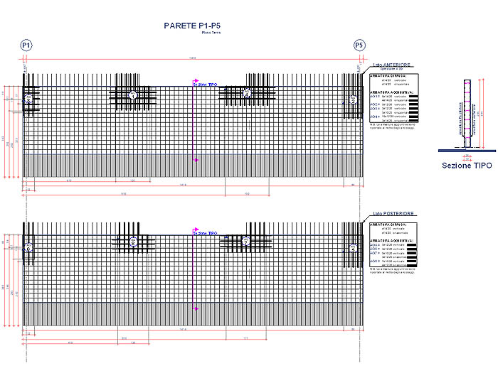 Librerie cad dwg gratis download dwg dwg strutturali for Parete attrezzata dwg