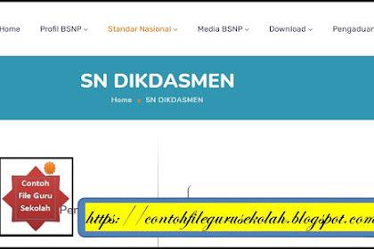 Standar Nasional (SN) Pendidikan Dasar dan Menengah (DIKDASMEN)