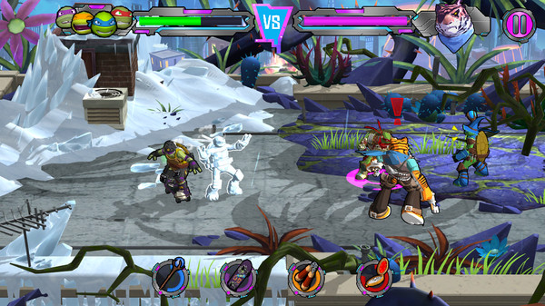 TMNT Portal Power MOD APK terbaru gratis