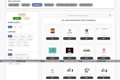 Now You Can Remove Dish TV, D2H Individual Channels, Channel Packs, Bouquets Without Any Lock-In Period